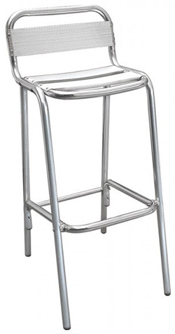 Tabouret de bar - Aluminium