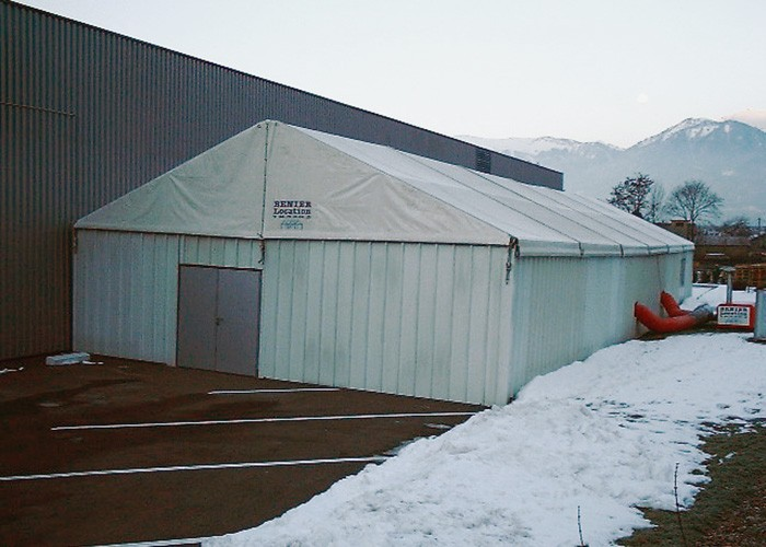 Location de tentes pour stockage courte ou longue durée
