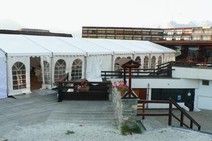 Tente pour restaurant